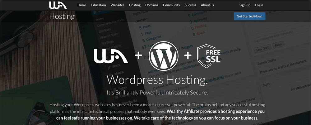 Best Web Hosting Companies - Wealthy Affiliate